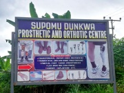 Aidworld e il Limb fitting centre - Shama - Ghana